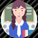 avatar, people, profession, student, woman