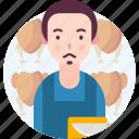 avatar, butcher, people, profession icon