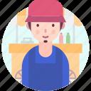 avatar, people, profession, street, vendor