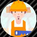 avatar, carpenter, carpentry, people, profession