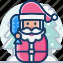 celebration, christmas, santa, winter, xmas