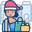 christmas, gift, shopping, shopping bag, xmas
