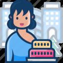 avatar, cake, christmas, woman, xmas