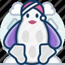 animal, christmas, penguin, pet, toy, xmas icon