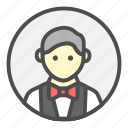 avatar, bartender, profession, waiter icon