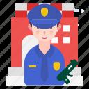 avatar, person, police, profession icon
