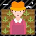 avatar, farmer, farming, man icon
