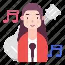 artist, avatar, music, singer icon