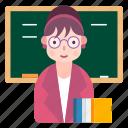 avatar, learn, school, teacher icon