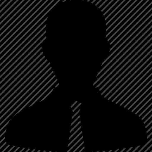 avatar, business, default, man, suit, user icon