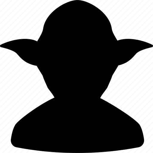 avatar, contact, default, starwars, user, yoda icon