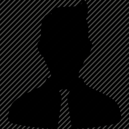 avatar, business, contact, default, suit, tie, user icon