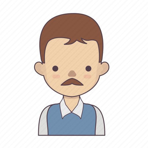 cartoon character, character, character set, man, outline, stroke character, woman icon