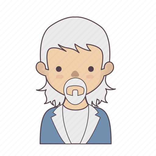 cartoon character, character, character set, man, outline, stroke character icon