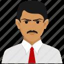 businessman, consultant icon