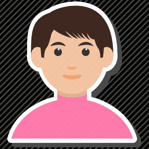 boy, man, people, student, user icon