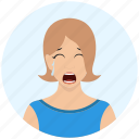 avatar, expression, girl, person, profile, user, woman