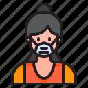 avatar, woman, female, profile, girl