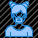 avatar, woman, female, girl, profile