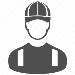 account, avatar, construction, people, profile, user, worker icon