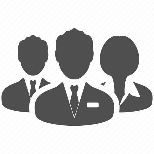 avatar, business, group, manager, people, portrait, users icon