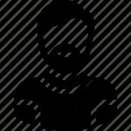 human, male, man, senior citizen, user icon