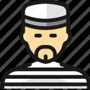 crime, man, inmate