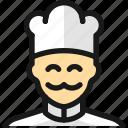 man, professions, chef