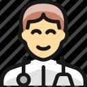 man, professions, doctor