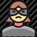crime, woman, thief