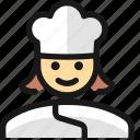 professions, woman, chef