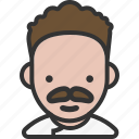 avatar, chef, male, mustache icon