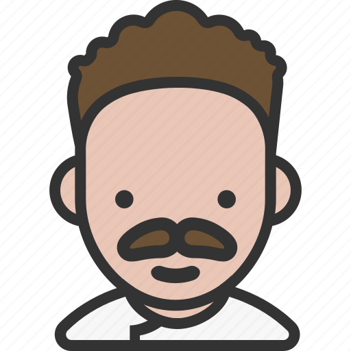 Avatar, chef, male, mustache icon - Download on Iconfinder