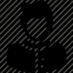 avatar, client, customer, junior, person icon