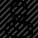 avatar, cyclist, male, man, sportsman icon