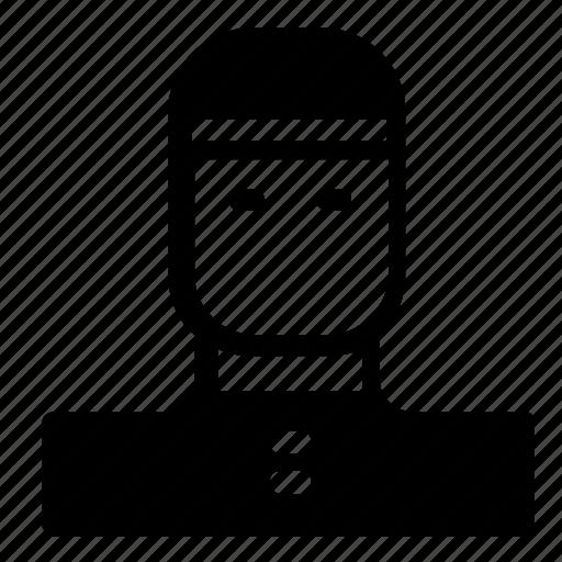 avatar, boy, chef icon