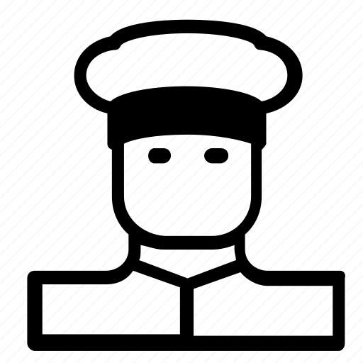 Man, cook, avatar icon