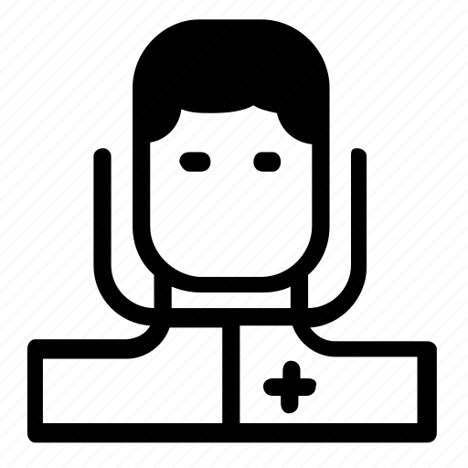 avatar, doctor, man icon