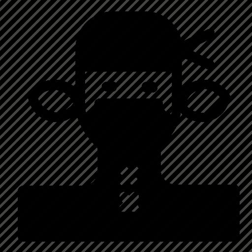 avatar, ninja, woman icon