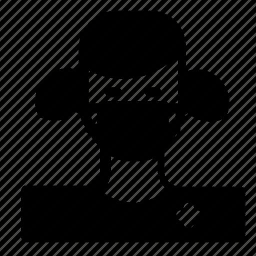 avatar, female, surgeon icon