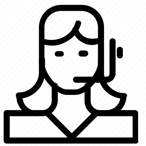 avatar, customer, support icon