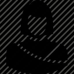 avatar, female, girl, lady, madam icon