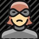 woman, thief, crime
