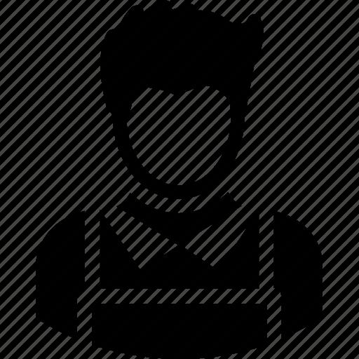 boy, butler, chauffeur, servant, waiter icon