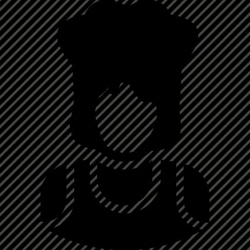 avatar, chef, cooker, female chef, restaurant icon