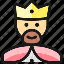 history, man, king