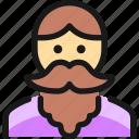 moustache, peopleman