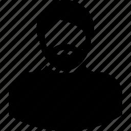 human, male, man, person, user icon