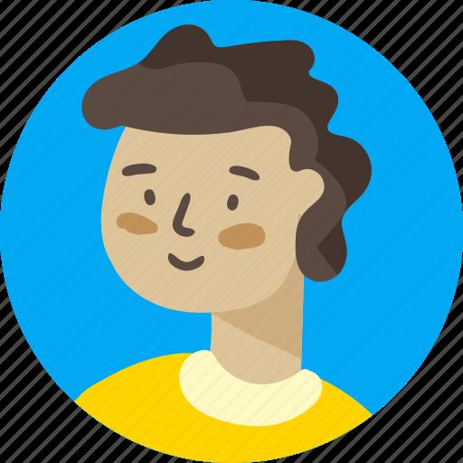 avatar, boy, man, people, person, profile, user icon