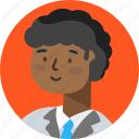account, avatar, boy, person, profile, researcher icon